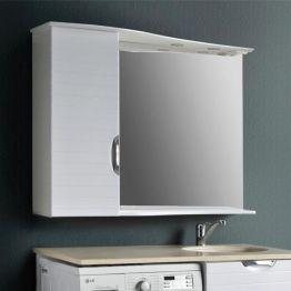 Зеркальный шкаф Атолл Бавария 125 белый
