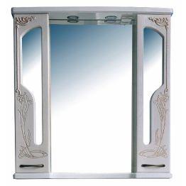 Зеркальный шкаф Атолл Барселона 95 белый