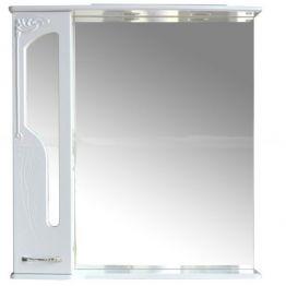 Зеркальный шкаф Атолл Барселона 85 белый