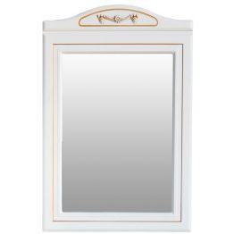 Зеркало Атолл Верона 65 слоновая кость/патина золото
