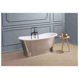 Чугунная ванна Sharking SW-1002A 170x68 (с матовой декоративной панелью)